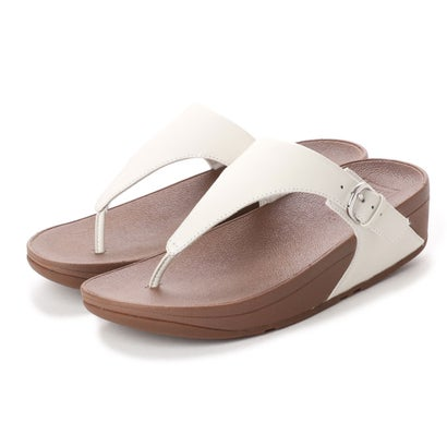 フィットフロップ fitflop SKINNY TOE-THONG SANDALS - LEATHER (Urban White)