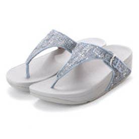 フィットフロップ fitflop SKINNY TOE-THONG SANDALS - LUXE-TWEED (Dove Blue)