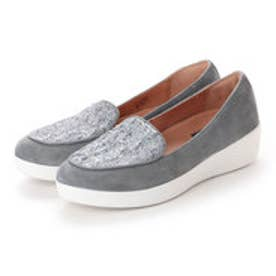 フィットフロップ fitflop SNEAKERLOAFER - LUXE-TWEED (Dove Blue)