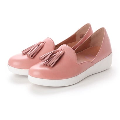 フィットフロップ fitflop TASSEL SUPERSKATE D'ORSAY LOAFERS - LEATHER (Dusky Pink)
