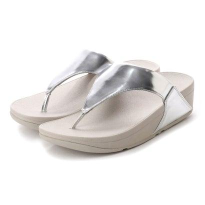フィットフロップ fitflop LULU TOE-THONG SANDALS - MIRROR (Silver Mirror)