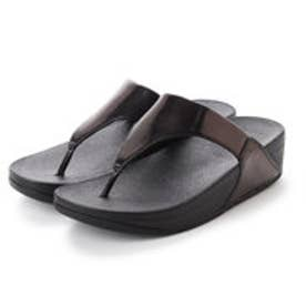 フィットフロップ fitflop LULU TOE-THONG SANDALS - MIRROR (Black Mirror)