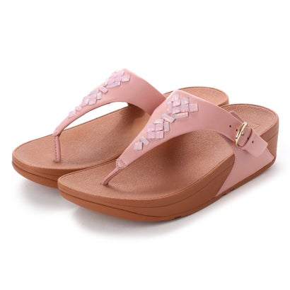 フィットフロップ fitflop THE SKINNY TOE-THONG SANDALS - CRYSTAL (Dusky Pink)
