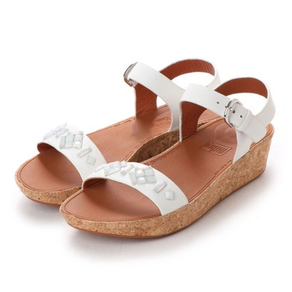 フィットフロップ fitflop BON II BACK-STRAP SANDALS - CRYSTAL (Urban White)