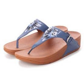 フィットフロップ FitFlop THE SKINNY TOE-THONG - DAISY-STITCH EMBROIDERY (Indian Blue)
