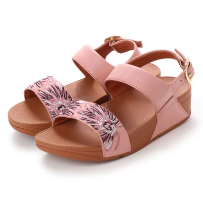 フィットフロップ fitflop DAISY-STITCH BACK-STRAP SANDALS (Dusky Pink)