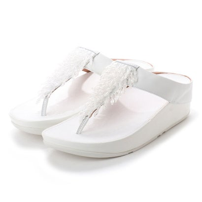 フィットフロップ fitflop RUMBA TOE-THONG SANDALS (Urban White)