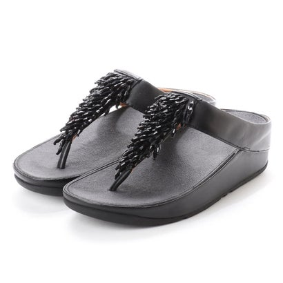 フィットフロップ fitflop RUMBA TOE-THONG SANDALS (Black)
