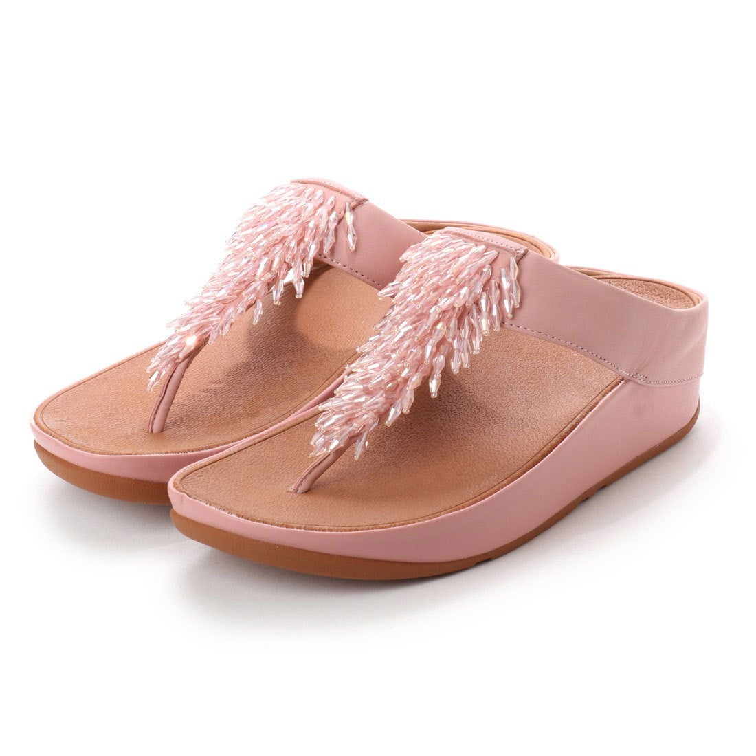 b456a81e89d fitflop フィットフロップ FitFlop RUMBA TOE-THONG SANDALS (Dusky Pink) -アウトレット通販  ロコレット (LOCOLET)