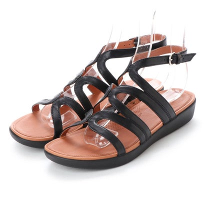 フィットフロップ fitflop STRATA GLADIATOR SANDALS - LEATHER (Black)