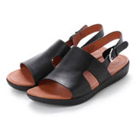 フィットフロップ fitflop H-BAR BACK-STRAP SANDALS - LEATHER (Black)