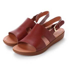 フィットフロップ fitflop H-BAR BACK-STRAP SANDALS - LEATHER (Cognac)