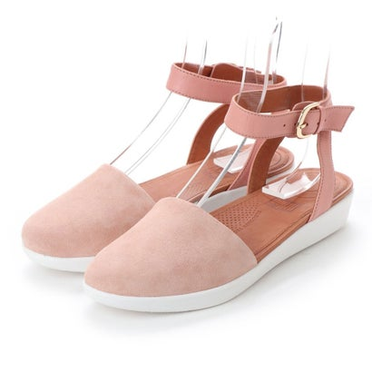 フィットフロップ fitflop COVA CLOSED-TOE SANDALS - SUEDE (Dusky Pink)