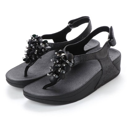 フィットフロップ fitflop BOOGALOO BACK STRAP SANDAL (Black)