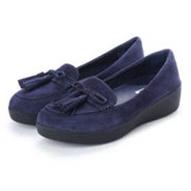 フィットフロップ FitFlop TASSEL BOW SNEAKERLOAFER (Midnight Navy)