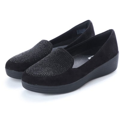 フィットフロップ FitFlop SPARKLY SNEAKERLOAFER (Black)