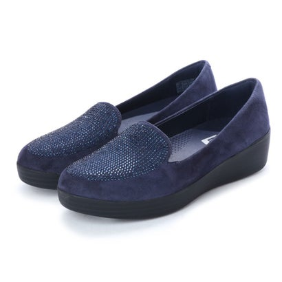 フィットフロップ FitFlop SPARKLY SNEAKERLOAFER (Midnight Navy)