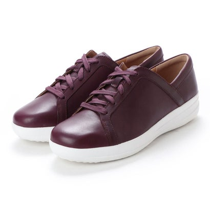フィットフロップ FitFlop F-SPORTY II LACE UP SNEAKERS - LEATHER (Berry)