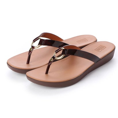 フィットフロップ fitflop HOOPLA TORTOISESHELL (Chocolate Brown Turtle)