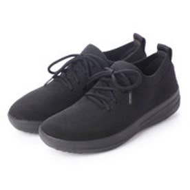 フィットフロップ fitflop F-SPORTY UBERKNIT SNEAKERS (All Black)