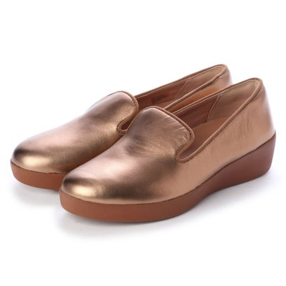フィットフロップ fitflop AUDREY METALLIC SMOKING SLIPPERS (Bronze)