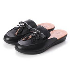 フィットフロップ fitflop SERENE DRAGONFLY LEATHER (Black)