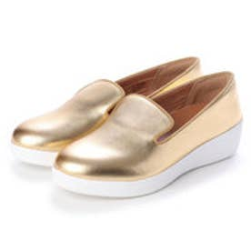 フィットフロップ fitflop AUDREY METALLIC SMOKING SLIPPERS (Artisan Gold)