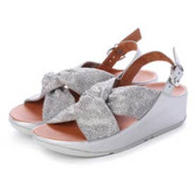 フィットフロップ fitflop TWISS CRYSTAL SANDAL (Silver)