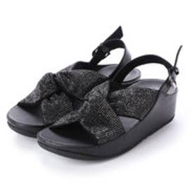 フィットフロップ fitflop TWISS CRYSTAL SANDAL (Black)