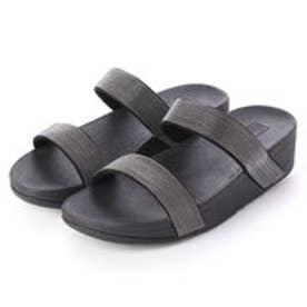 フィットフロップ fitflop LOTTIE SHIMMERMESH SLIDE (Black)