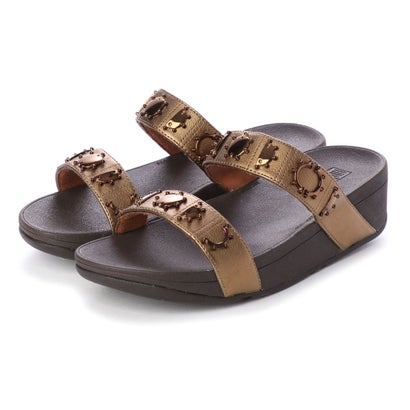 フィットフロップ fitflop LOTTIE CRESCENT SLIDE STUD (Bronze)