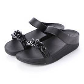フィットフロップ fitflop FINO CHAIN SLIDE (Black)