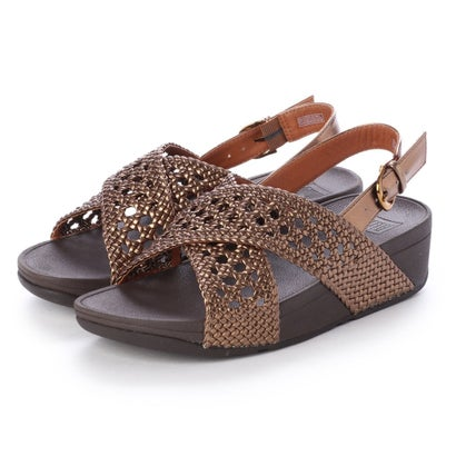 フィットフロップ fitflop LULU WICKER SANDAL (Bronze)