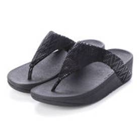 フィットフロップ fitflop LOTTIE CHEVRON (Black)