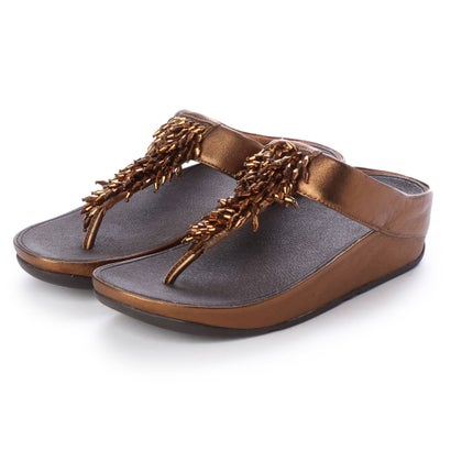 フィットフロップ fitflop RUMBA TOE-THONG SANDALS (Bronze)