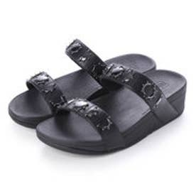 フィットフロップ fitflop LOTTIE CRESCENT SLIDE STUD (Black)
