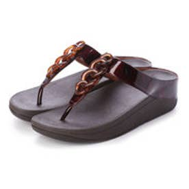 フィットフロップ fitflop FINO TORTOISESHELL CHAIN (Chocolate Brown Turtle)