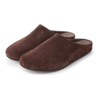 フィットフロップ fitflop SHOVE MULE LEATHER (Chocolate Brown)