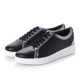 フィットフロップ fitflop RALLY SNEAKERS (Pewter/Black)