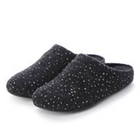 フィットフロップ fitflop CHRISSIE DOTTY GLITZ SLIPPERS (Charcoal)