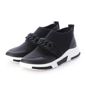 フィットフロップ fitflop HEDA CHAIN SLIP-ON SNEAKERS (Black)