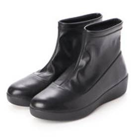 フィットフロップ fitflop OTTIE SOCK FAUX - LEATHER (Black)