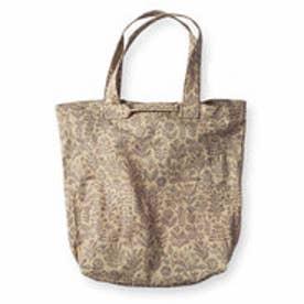 フェリシモサーカス FelissimoCircus ハンガリーの陶芸作家さんのデザイン 綿麻素材の大きめ2-wayトートバッグ (meadow)