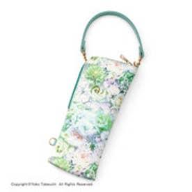 フェリシモサーカス FelissimoCircus 大人の持ち物をスマートに持ち運ぶ 細長マルチポーチ (ライラックホワイト)