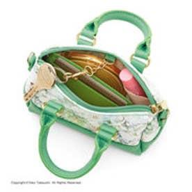 フェリシモサーカス FelissimoCircus 小さくても本格派 ハンドバッグみたいなチャームポーチ (ライラックホワイト)