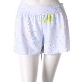フェリシモサーカス FelissimoCircus 洋服みたいなペプラムスイムウェア〈ボトムスセット〉 (ホワイト)