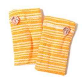 フェリシモサーカス FelissimoCircus 寝ながら美容 ひじとかかとつるつるケアカバー (オレンジ2)