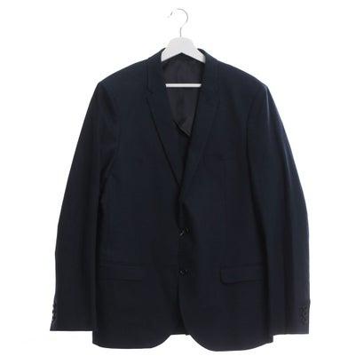 ファイン FINE 麻綿使用テーラードジャケット (ネイビー)