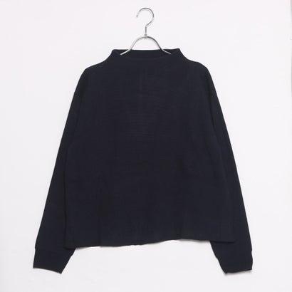 ファイン FINE プチハイネックセーター (ネイビー)