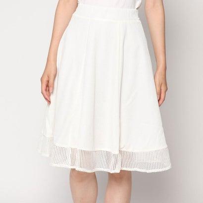 ファイン FINE (Rename) 裾レースフレアスカート (アイボリー)